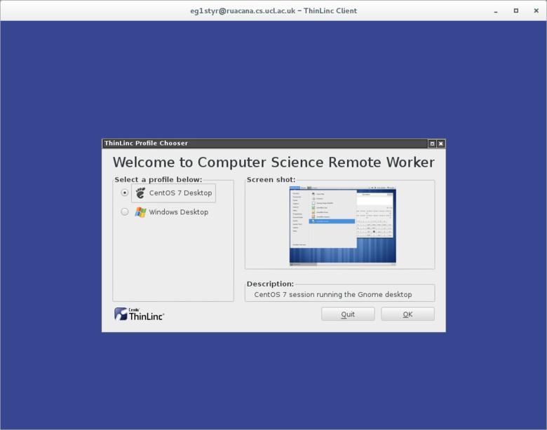 Computer Science Remote Worker (CSRW)